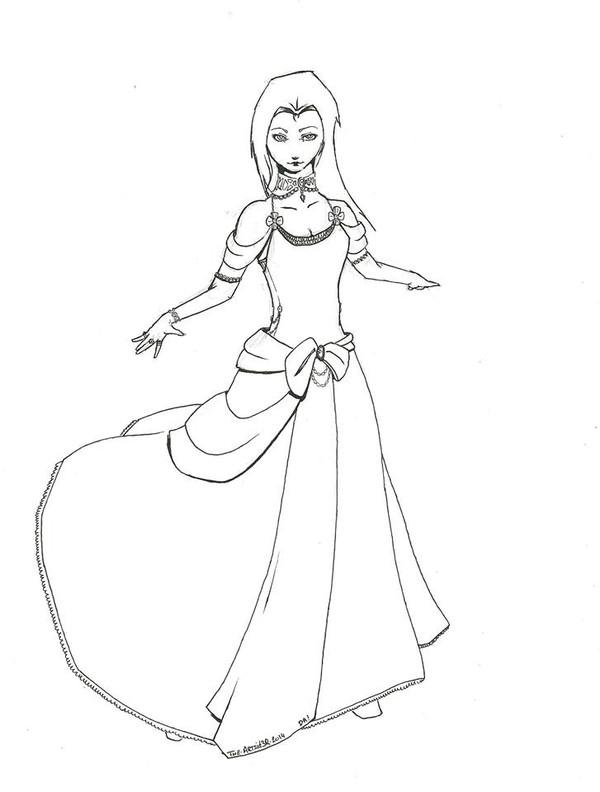 Conte d'Halloween 1 : La majestueuse princesse