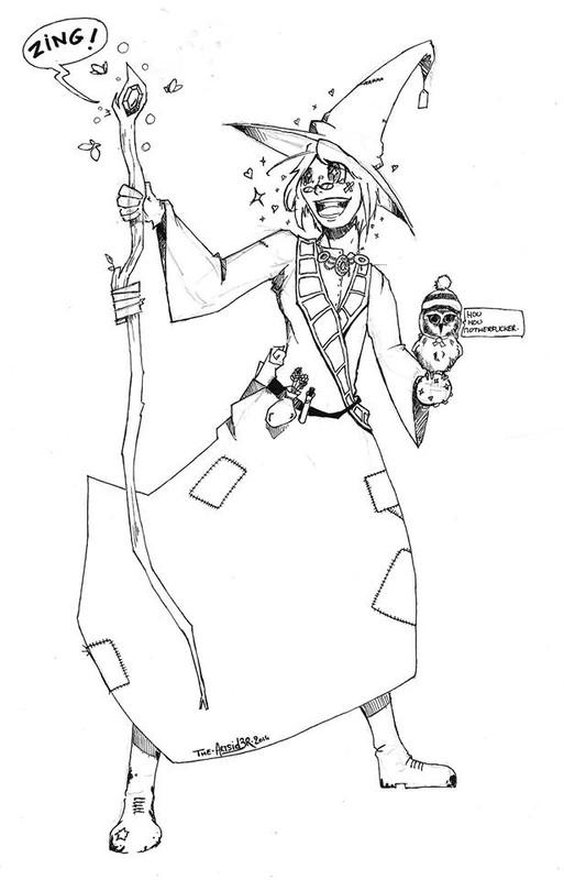 Conte d'Halloween 3: Le mage raté