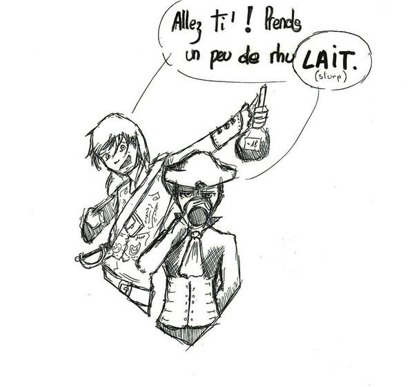 3 Les pirates et la petite sirène